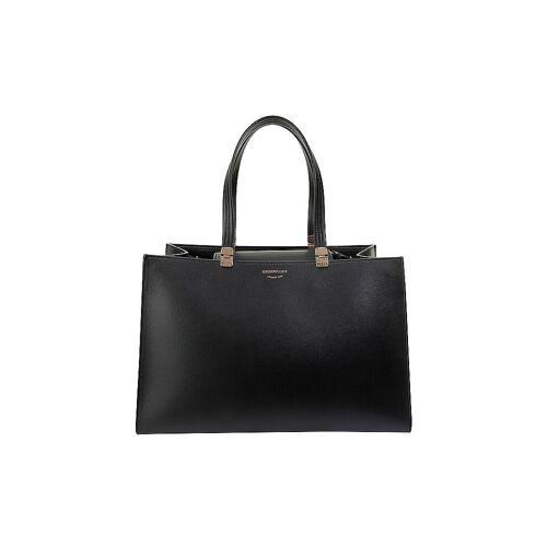 Giorgio Armani EMPORIO ARMANI Ledertasche - Shopper schwarz   Damen   Y3D197 Y259B