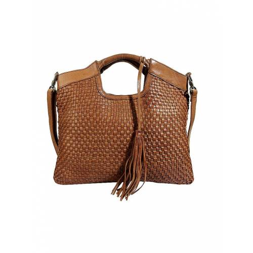 REHARD Ledertasche - Shopper Weave Family gelb   Damen   BS 9101