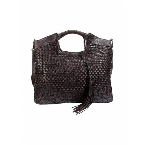 REHARD Ledertasche - Shopper Weave Family braun   Damen   BS 9101