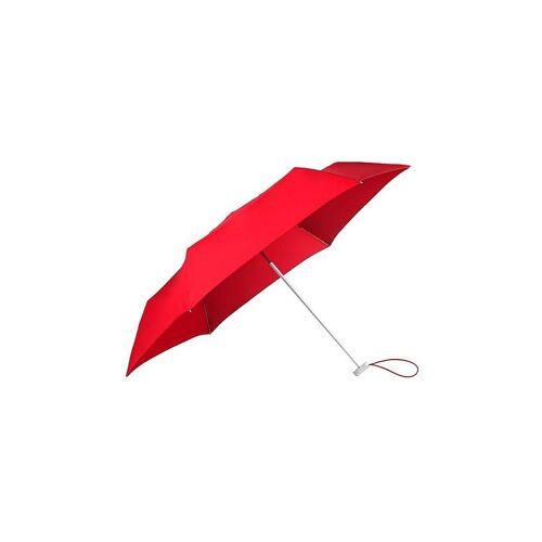 Samsonite Regenschirm - Taschenschirm Alu Drop S (Tomato) rot   108962