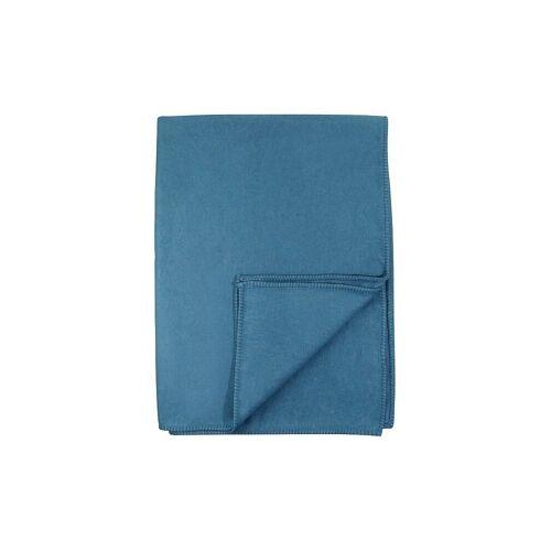 David Fussenegger Tagesdecke - Plaid Sylt (atlantik) blau