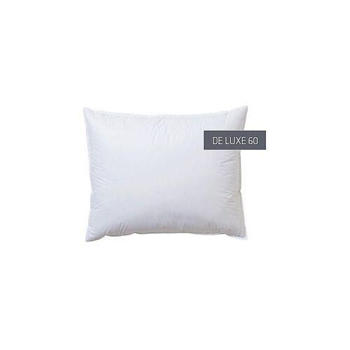 KAUFFMANN Kissen De Luxe 60 70x90cm (750g Weich) weiß