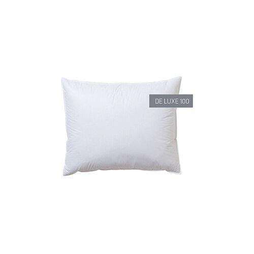 KAUFFMANN Kissen De Luxe 100 70x90cm (550g Extra weich) weiß
