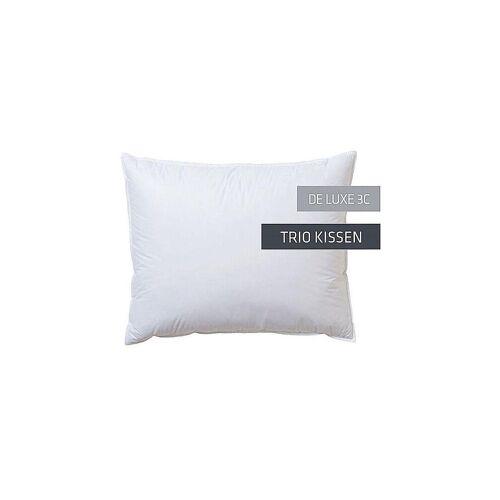 KAUFFMANN Trio-Kissen De Luxe 3C 40x60cm (200g/2x20g) weiß