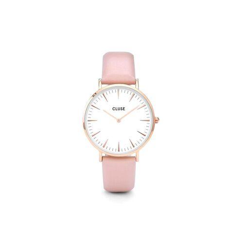 CLUSE Armbanduhr La Boheme (rosegold/pink) rosa
