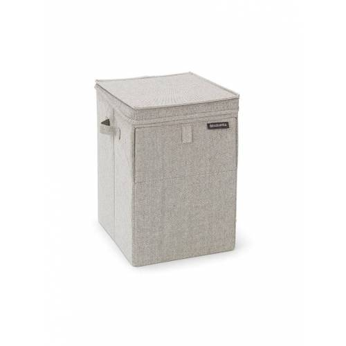 BRABANTIA Wäschebox (stapelbar) 35L grau
