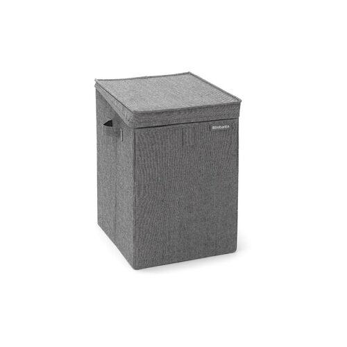 BRABANTIA Wäschebox (stapelbar) 35L schwarz