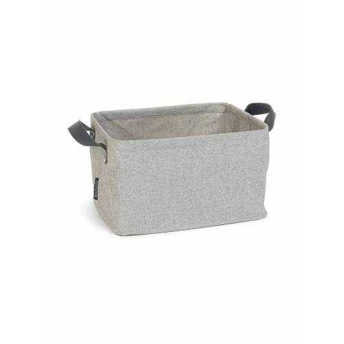 BRABANTIA Faltbarer Wäschekorb 35L grau