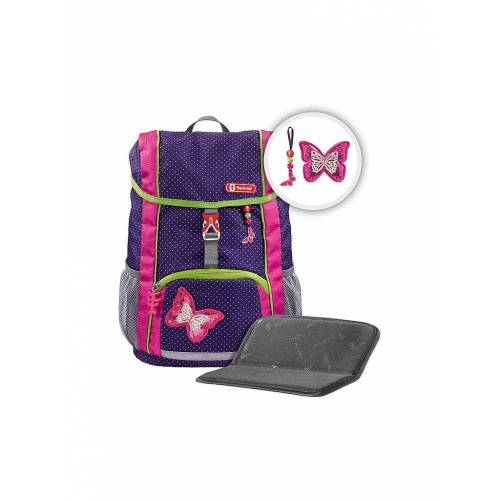 """STEP BY STEP KID Rucksack-Set 3-tlg. """"Shiny Butterfly"""""""