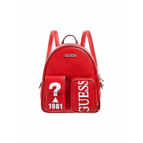 Guess Rucksack Utility Vibe L rot