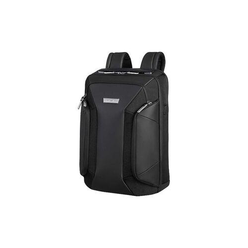 Samsonite Laptop-Rucksack Alu Biz 15,6 schwarz