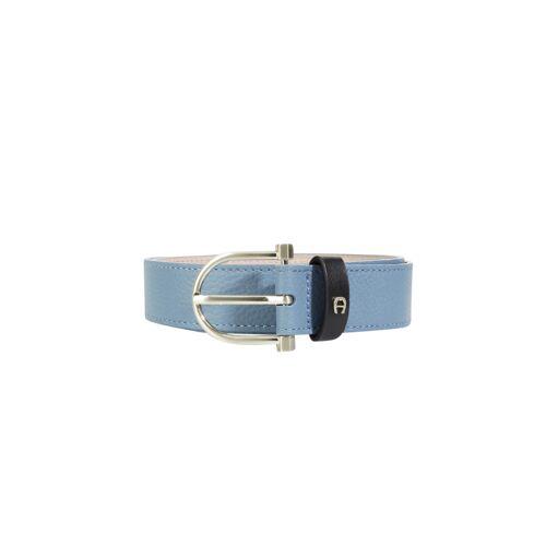 AIGNER Ledergürtel Evita blau   85