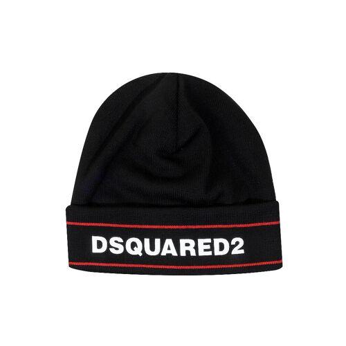 DSQUARED 2 Mütze - Haube  schwarz