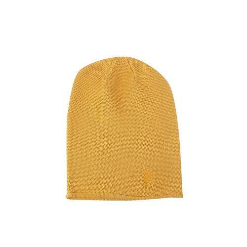 MUETZENMAFIA Mütze - Feinstrick Beanie gelb