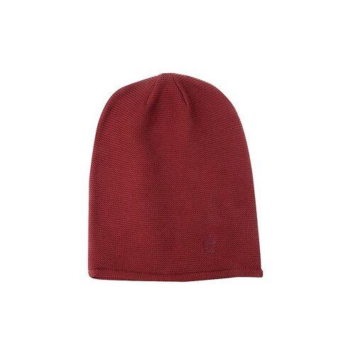 MUETZENMAFIA Mütze - Feinstrick Beanie rot