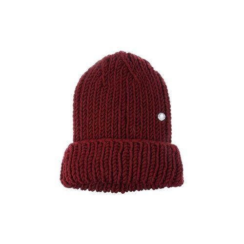 MUETZENMAFIA Mütze - Strick Beanie rot