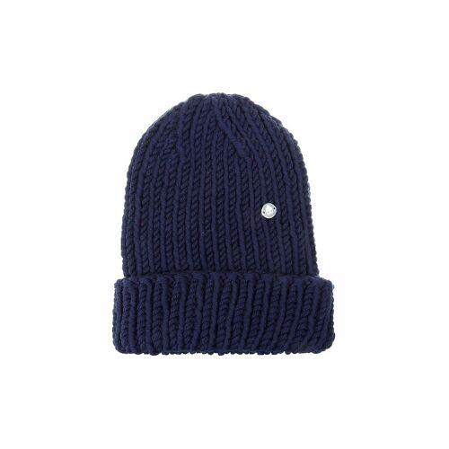 MUETZENMAFIA Mütze - Strick Beanie blau