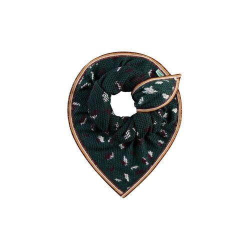 POM Schal Furry grün