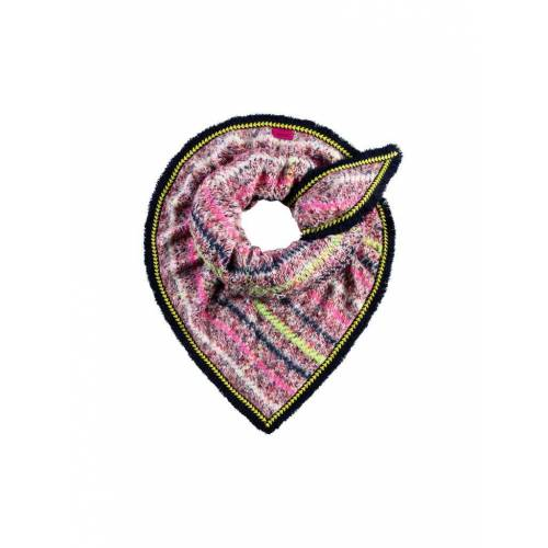 POM Schal Furry rosa