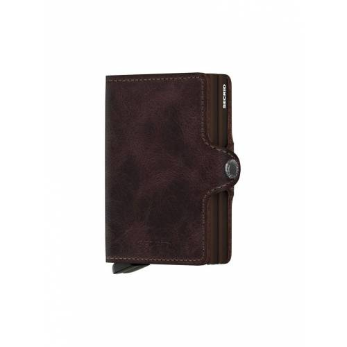 SECRID Geldbörse - Twin Wallet  braun