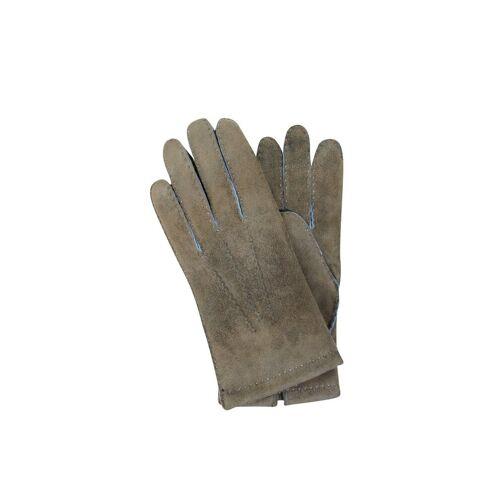 TR-HANDSCHUHE Lederhandschuhe grün   8,5