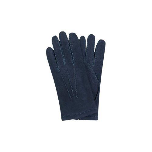 TR-HANDSCHUHE Lederhandschuhe blau   9,5