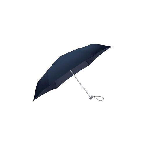 Samsonite Regenschirm - Taschenschirm Rain Pro Manual Flat blau   56158