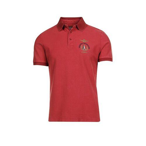 AERONAUTICA MILITARE Poloshirt rot   M