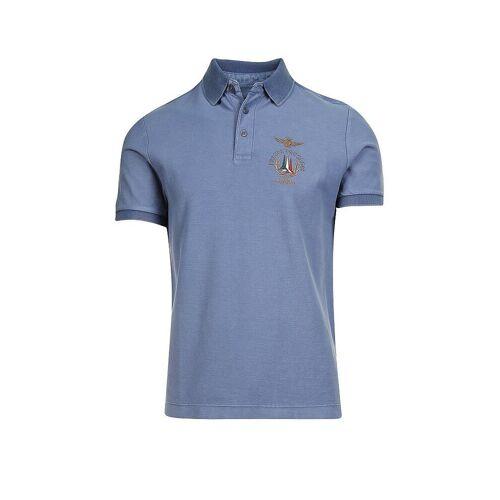 AERONAUTICA MILITARE Poloshirt blau   XL