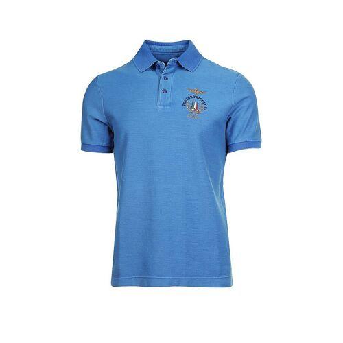AERONAUTICA MILITARE Poloshirt blau   S