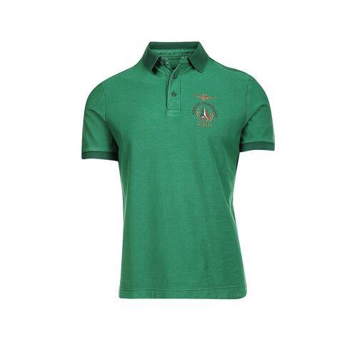 AERONAUTICA MILITARE Poloshirt grün   XL