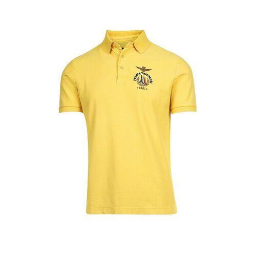 AERONAUTICA MILITARE Poloshirt gelb   M