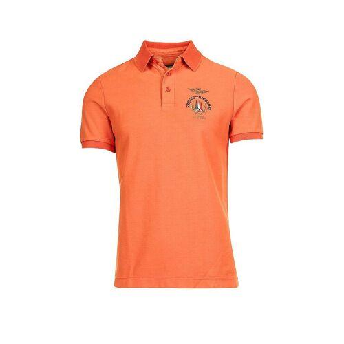 AERONAUTICA MILITARE Poloshirt orange   M