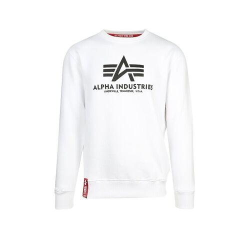 Alpha INDUSTRIES Sweater  weiß   XL