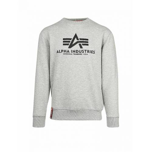 Alpha INDUSTRIES Sweater  grau   L