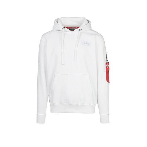Alpha INDUSTRIES Sweater  weiß   XXL