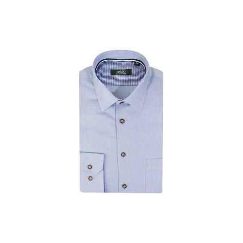 ARIDO Trachtenhemd blau   38