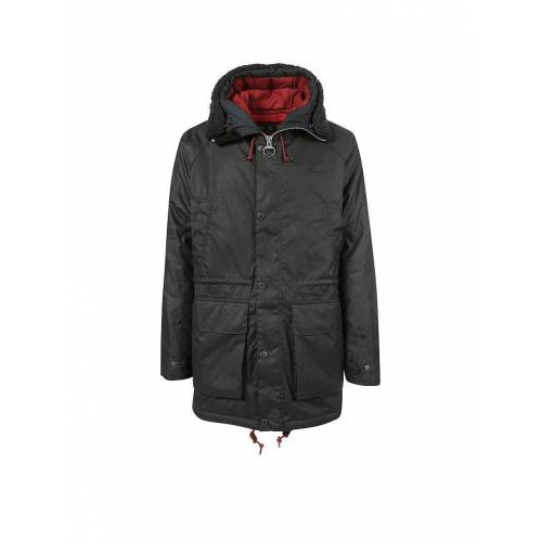 BARBOUR Parka   Red North Sea  blau   XXL