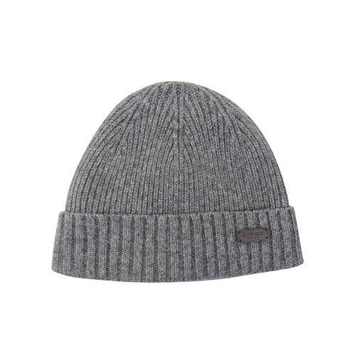 BARBOUR Mütze - Beanie  grau