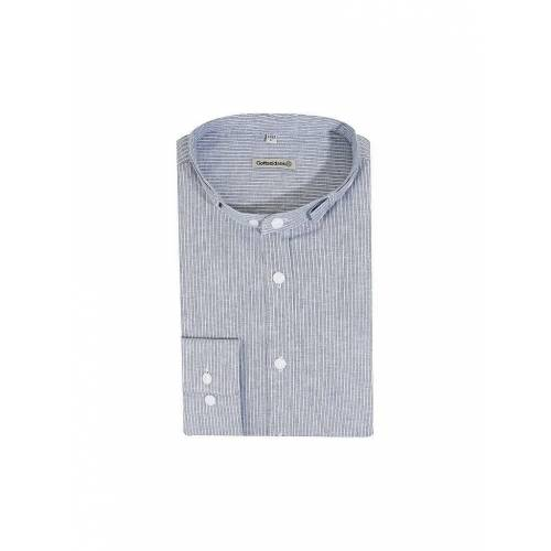 GOTTSEIDANK Trachtenhemd  Lenz  blau   XXL