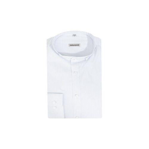 GOTTSEIDANK Trachtenhemd  Lenz  blau   M