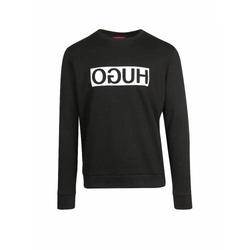 HUGO Sweater Dicago schwarz   L