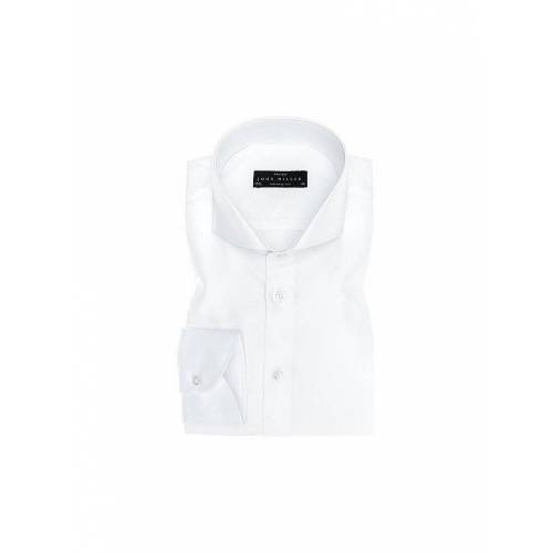 JOHN MILLER Hemd Tailored Fit weiß   38