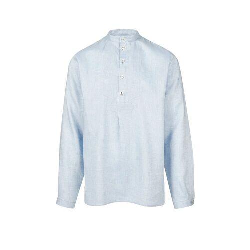 MANNSZEUG Trachtenhemd Hans blau   L