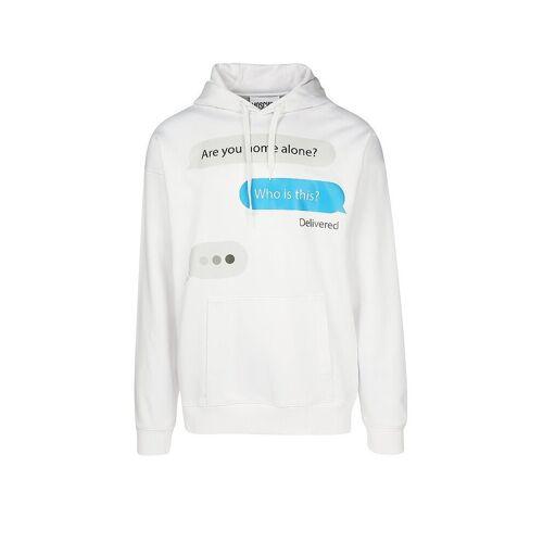 MOSCHINO Sweater Chat weiß   46