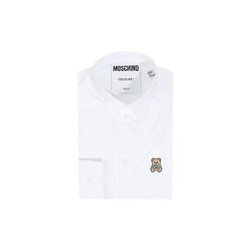 MOSCHINO Hemd  weiß   39