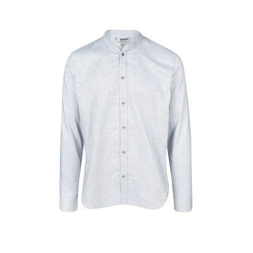 NOWADAYS Hemd Modern Fit blau   L
