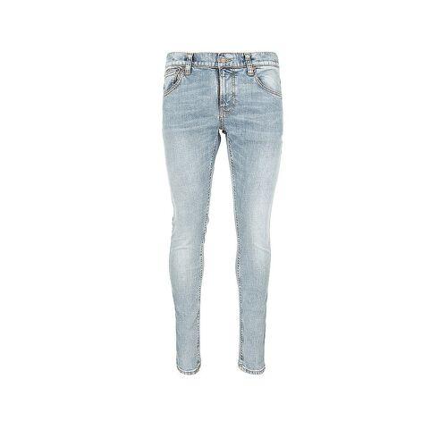 NUDIE JEANS Jeans Skinny Fit Tight Terry blau   W33/L32