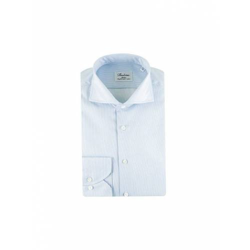 STENSTRÖMS Hemd Slim-Fit  blau   43