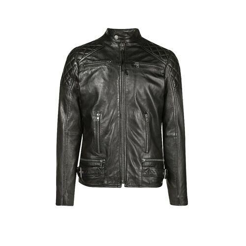TIGHA Lederjacke schwarz   XL